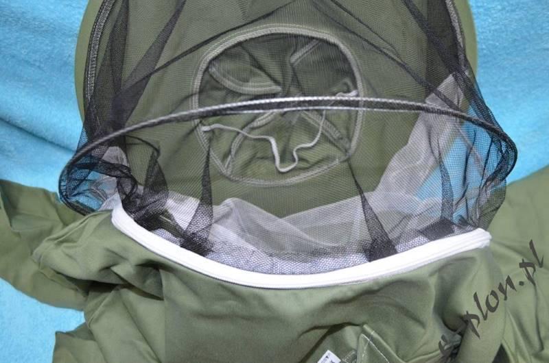Bluza pszczelarska z kapeluszem /bez zamka/ - XL