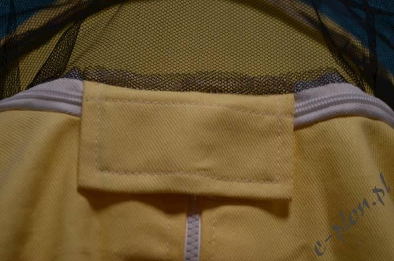 Bluza pszczelarska z kapeluszem /zamek/ rozm. M