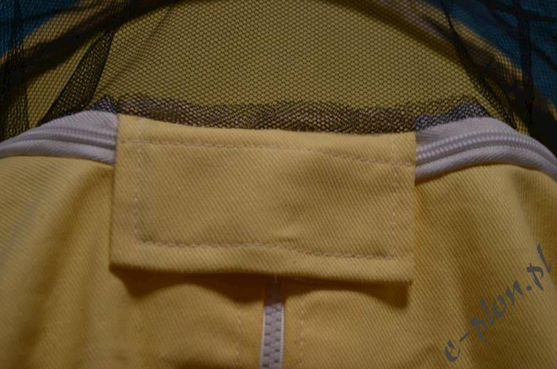 Bluza pszczelarska z kapeluszem /zamek/ rozm. L