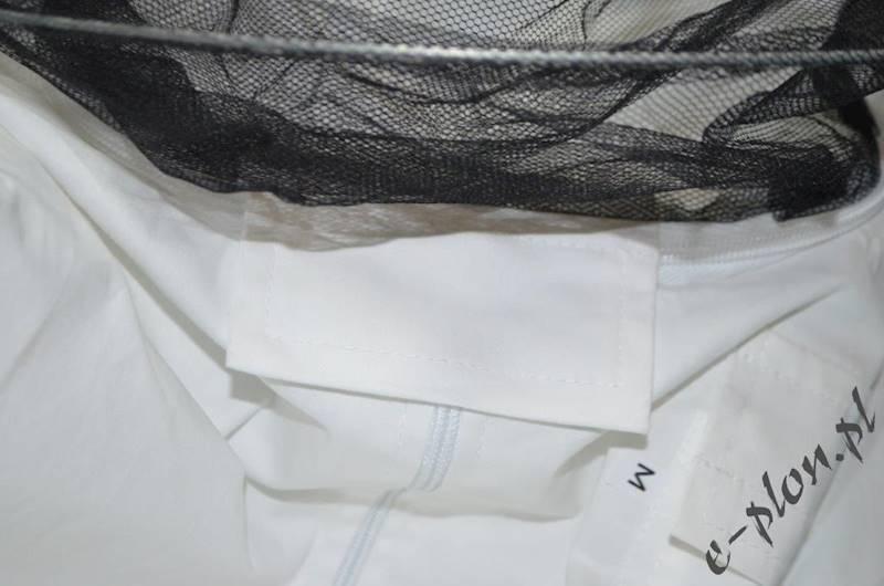 Bluza pszczelarska z kapeluszem /zamek/ rozm. XXXL
