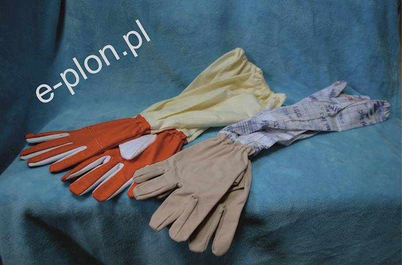 Rękawice pszczelarskie płócienne, rozmiar 11