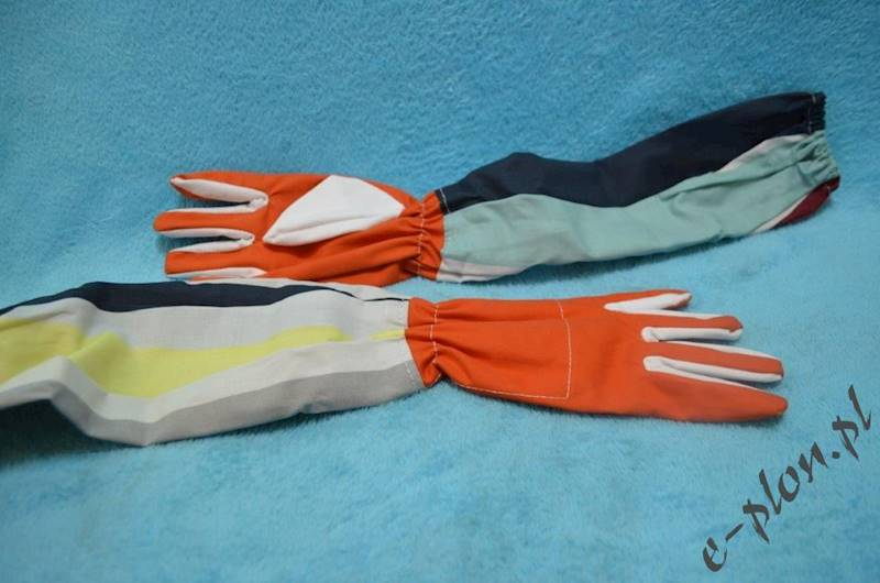 Rękawice pszczelarskie płócienne, rozmiar 12