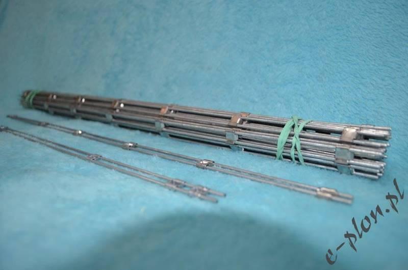 Beleczki odstępnikowe metalowe Dadant