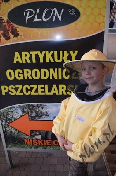Bluza pszczelarska dziecięca z kapeluszem - 122