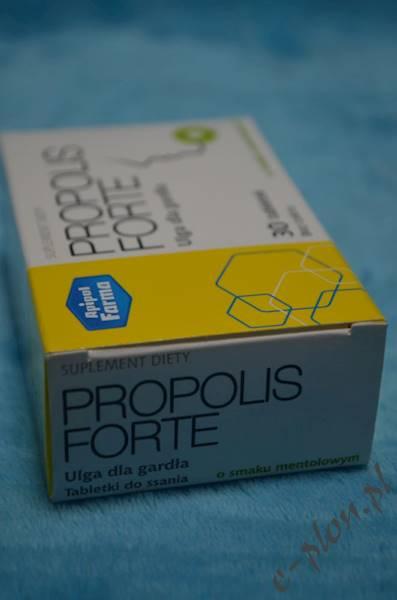 Propolis Forte smak mentolowy 30 tabl.