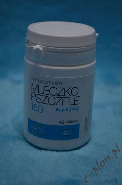 Mleczko pszczele Royal 150 / 45 tabletek