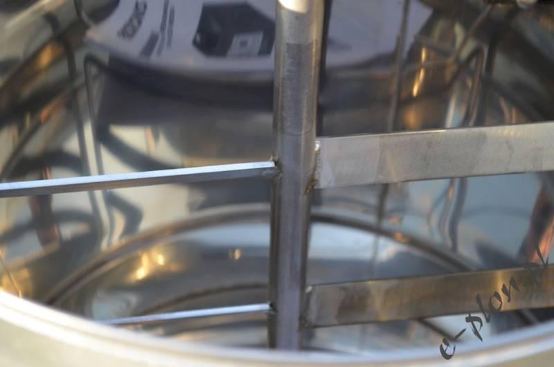 Kremownica do miodu 50L fi 410, Apikoz - KR001