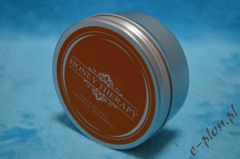 Masło do ciała z woskiem i kolagenem 120g / HT84