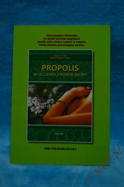 """Książka """"Leczenie Propolisem """" K75"""
