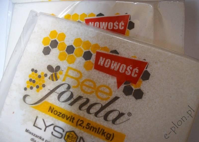 NOWOŚĆ! Pasza dla pszczół - ciasto z dodatkiem Nozevit 2,5ml/kg