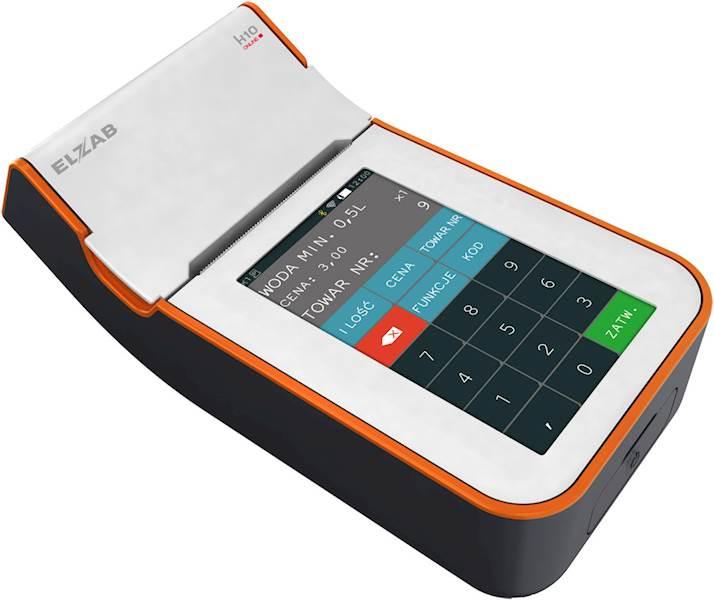 ELZAB K10 biało-pomarańczowa Online BT/GPRS