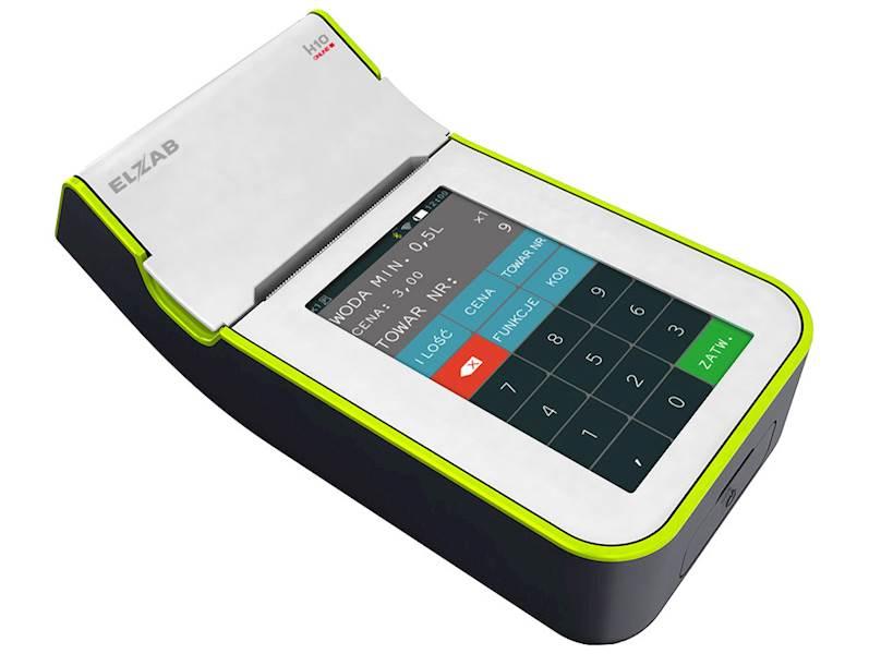 ELZAB K10 biało-zielona Online BT/GPRS