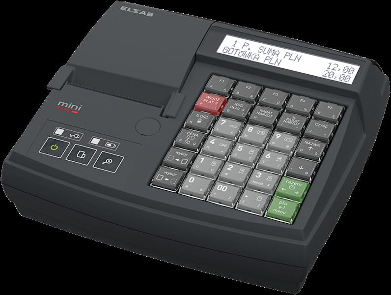 ELZAB Mini Online z klawiaturą modułową BT/WiFi