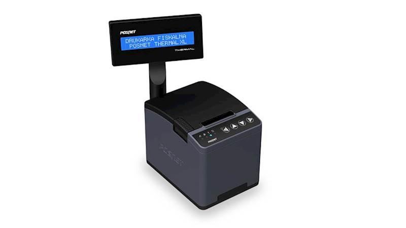 POSNET Thermal XL wyświetlacz wbudowany