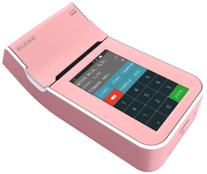 ELZAB K10 różowo-biała Online BT/GPRS