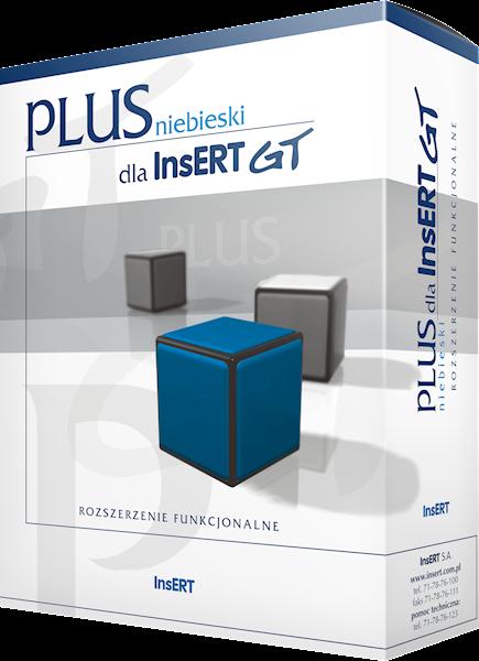 INSERT GT Plus Niebieski