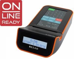 ELZAB K10 czarno-pomarańczowa Online Ready