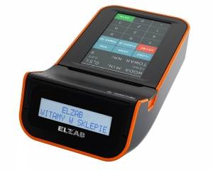 ELZAB K10 czarno-pomarańczowa