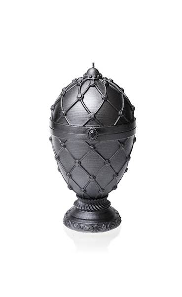 Świeca Candle Faberge Egg Big Steel