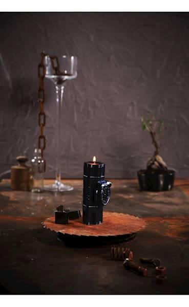 Świeca Candle Dynamite Black Metallic