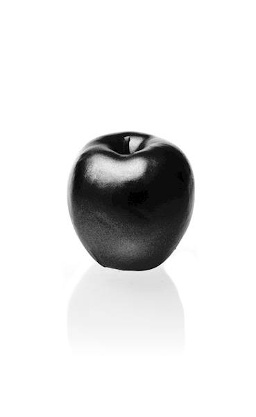 Świeca Candle Apple Black Metallic
