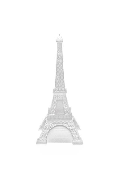 Świeca Candle Eiffel Tower Silver