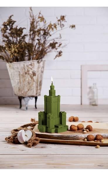 Świeca Candle Palace of Culture Olive
