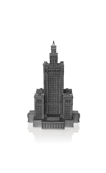 Świeca Candle Palace of Culture Steel