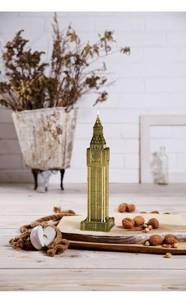 Świeca Candle Big Ben Classic Gold