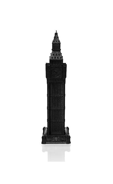 Świeca Candle Big Ben Black Metallic