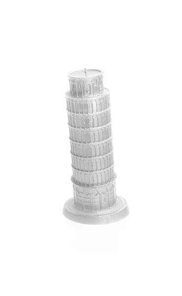Świeca Candle Piza Tower Silver