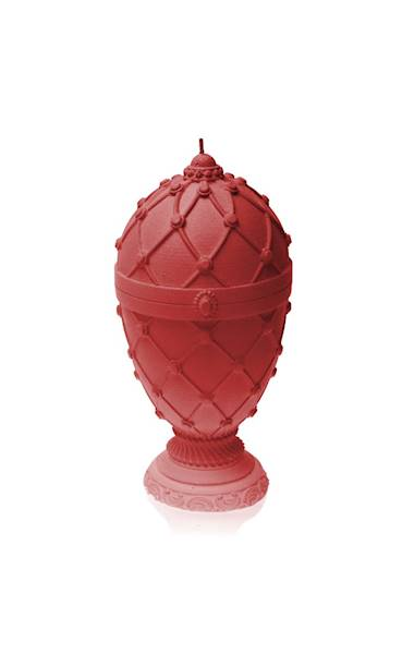 Świeca Candle Faberge Egg Big Red