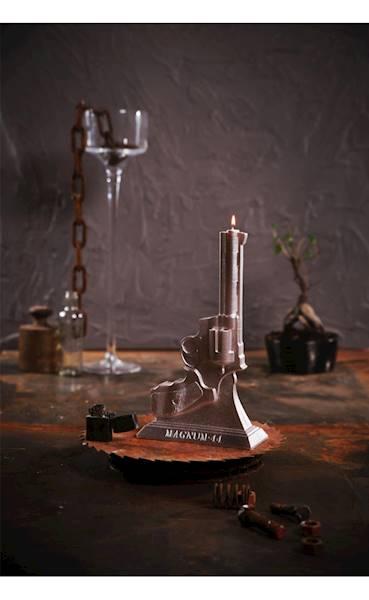 Świeca Candle Magnum Silver