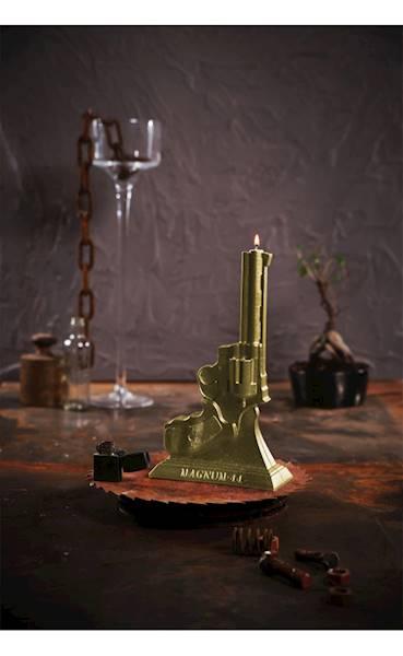 Świeca Candle Magnum Classic Gold