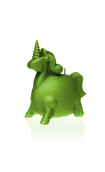Świeca Candle Funny Unicorn Lime