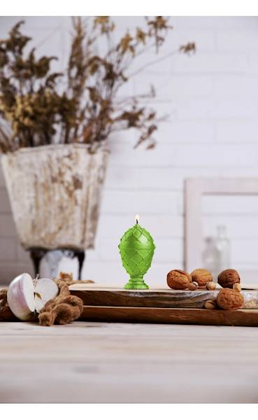 Świeca Candle Faberge Egg Small Lime