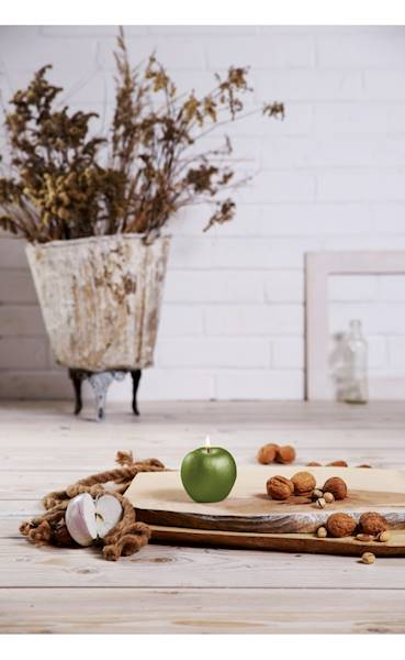 Świeca Candle Apple Olive