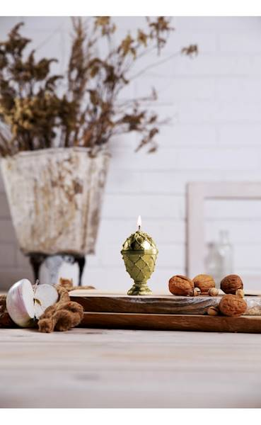 Świeca Candle Faberge Egg Small Classic Gold