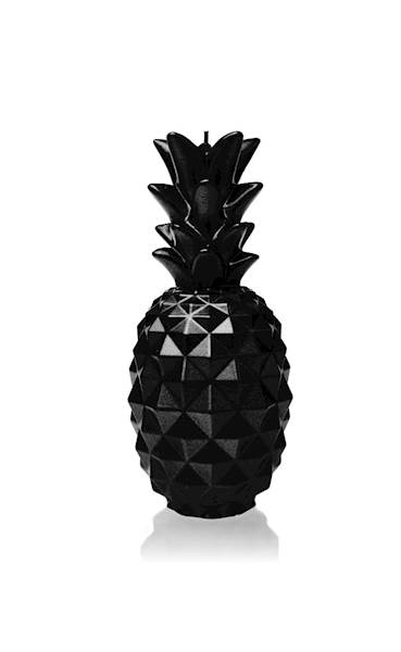 Świeca Candle Pineapple Black Metallic
