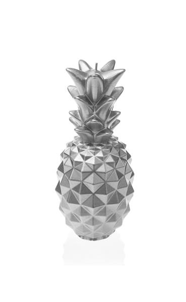 Świeca Candle Pineapple Silver