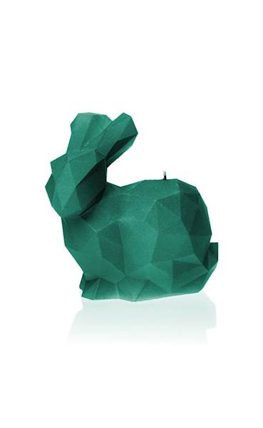 Świeca Candle Rabbit Big Turquoise