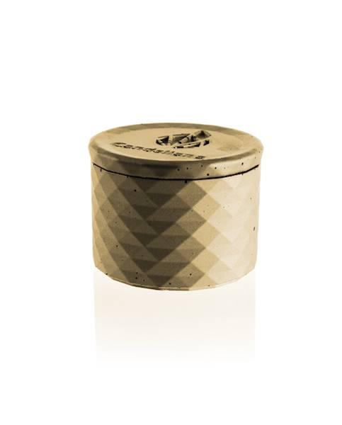 Świeca Candle Concrete Polly No 1 Classic Gold UWF