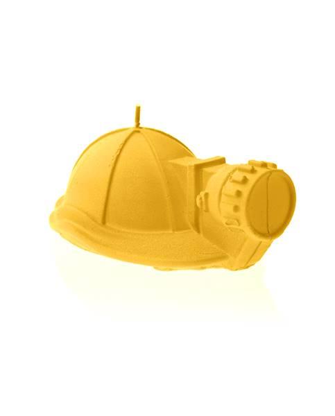 Świeca Candle Mining Helmet Yellow