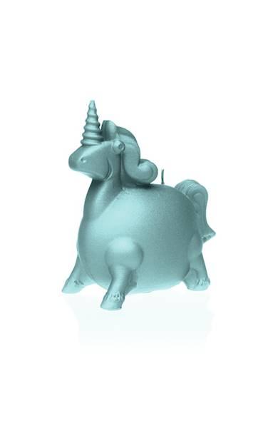 Świeca Candle Funny Unicorn Mint