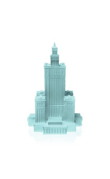 Świeca Candle Palace of Culture Mint