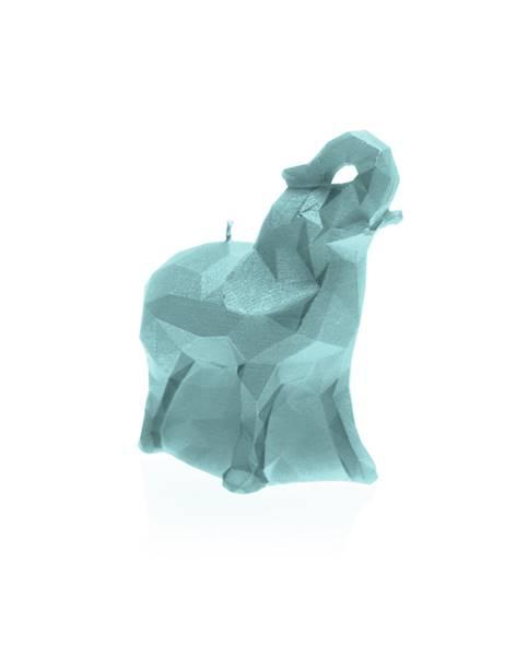 Świeca Candle Elephant Small Mint