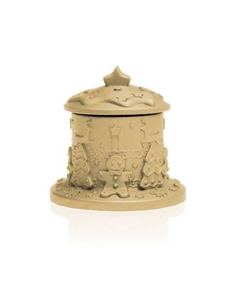 Świeca Candle Concrete Gingerbread House Latte U