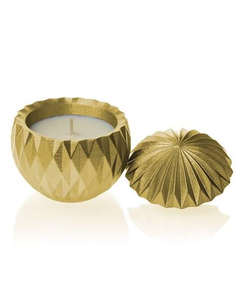 Świeca Candle Concrete Bauble Classic Gold G