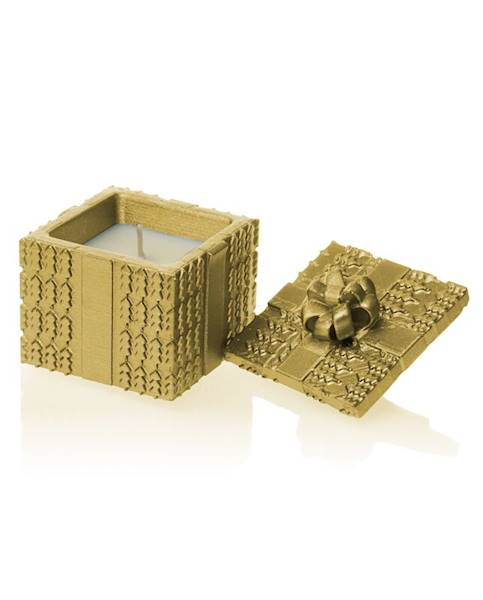 Świeca Candle Concrete Gift Classic Gold G
