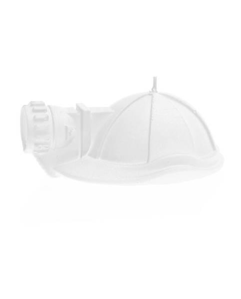 Świeca Candle Mining Helmet White